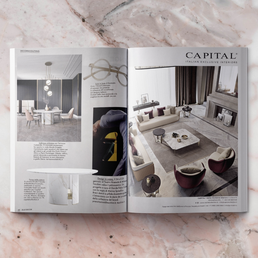 Elle Decor December January 2019 Capital Collections